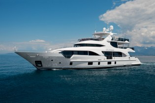View large version of image: Launch of new Benetti Tradition Supreme 108 Yacht My Paradis