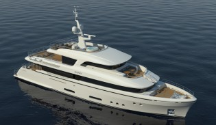 View large version of image: Moonen to build first Caribbean series superyacht MARTINIQUE