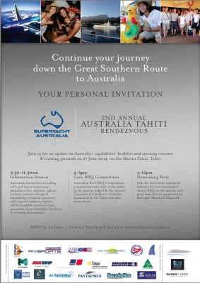 View large version of image: 2nd Annual Australia Tahiti Rendezvous