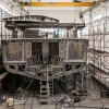 Superyacht WIDER 150' taking shape