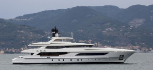 View large version of image: Launch of 46m displacement yacht Hull 10217 announced by Baglietto