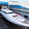 Launch and delivery of 9th Mangusta 165 Yacht PUMPKIN