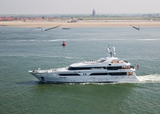 View large version of image: Amels re-launches superyacht VOLPINI (ex Larissa)