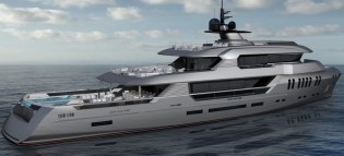 View large version of image: Rossinavi unveils 44m expedition yacht POSEIDON concept