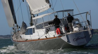 View large version of image: Yachting Developments completes refit of Swan 90 Yacht SPIRIT