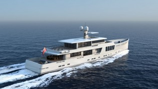 View large version of image: JFA Yachts unveils new 164' explorer yacht project