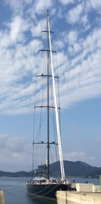 View large version of image: 60m Perini Navi Yacht Perseus3 fitted with sails by Doyle Sailmakers