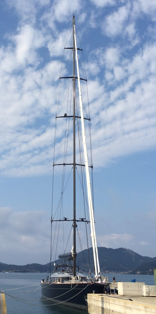 60m Perini Navi Yacht Perseus3 Fitted With Sails By Doyle