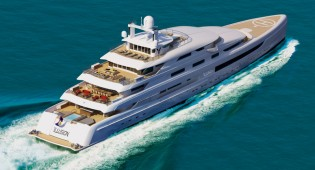 View large version of image: 88,8m mega yacht ILLUSION by Pride Mega Yachts sold