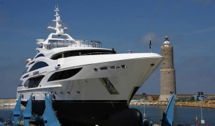 View large version of image: New Benetti superyacht ILLUSION I to make her world debut at MYS 2014