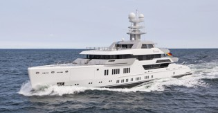 View large version of image: Successful sea trials for 66m Lurssen mega yacht ESTER III