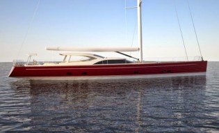View large version of image: New superyacht Baltic 116 with Running Rigging package by RSB