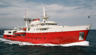 View large version of image: Conversion of 73m explorer yacht LEGEND (ex Giant) into luxury charter yacht