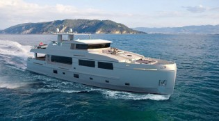 View large version of image: Mengi Yay launches new superyacht SERENITAS
