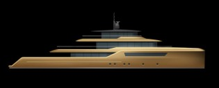 View large version of image: Dixon Yacht Designs unveils new 46m explorer yacht concept at MYS 2014