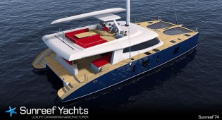 View large version of image: Sunreef announces sale of three units of Sunreef 74 catamaran