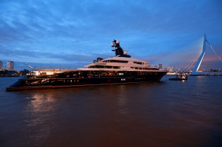 View large version of image: Two prestigious awards for Oceanco superyacht EQUANIMITY