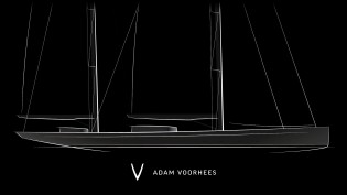 View large version of image: Sneak preview of 70m mega yacht concept by Adam Voorhees