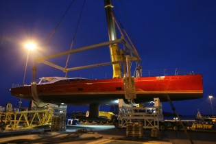 View large version of image: Baltic Yachts launch Baltic 116 Custom Yacht DORYAN