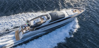 View large version of image: Riva 122' Mythos Yacht SOL to be showcased at FLIBS 2014