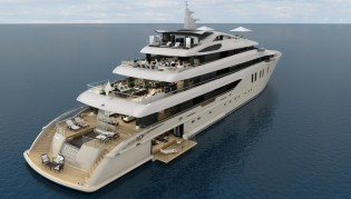 View large version of image: ICON Yachts announces arrival of 75,80m mega yacht ICON 250 hull