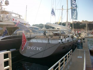 View large version of image: First Swan 105 RS superyacht Ti-Coyo delivered