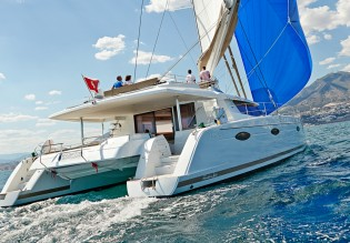 View large version of image: British Virgin Islands Yacht Charter aboard 2014 Victoria 67 Catamaran Yacht LIR