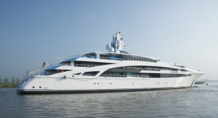 View large version of image: Kusch Yachts launch 101m mega yacht V853