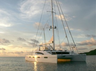 View large version of image: British Virgin Islands Yacht Charter in the Caribbean Aboard Charter Catamaran AKASHA