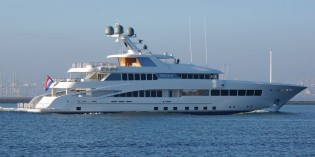 View large version of image: 60m Feadship mega yacht ROCK.IT (hull 687) completes sea trials
