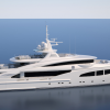 ISA Yachts building 66m mega yacht ROUTE 66