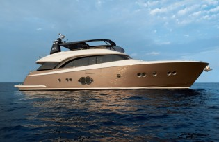 View large version of image: AIM Editors' Choice Award 2014 for Monte Carlo Yachts 86 super yacht NEVER SAY NEVER
