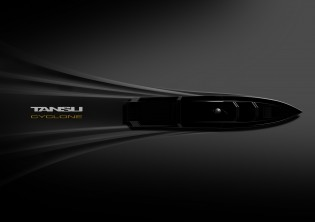 View large version of image: New order for 43m PROJECT CYCLONE Yacht signed by Tansu Yachts