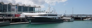 View large version of image: Launch of 44m superyacht HEY JUDE (AY54) at Alloy Yachts