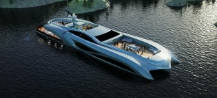 View large version of image: NEDSHIPGROUP unveils new Xhibitionis Event Yacht concept