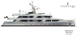 View large version of image: Codecasa announces sale of superyacht Project Falcon (hull C121)