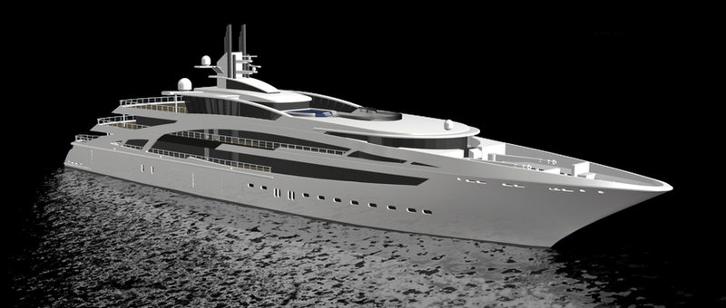 View Large Version Of Image Kusch Yachts Launch 101m Mega Yacht DYNASTY V853