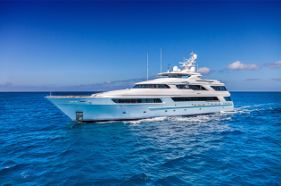 View large version of image: 50m (164') charter Yacht VICTORIA DEL MAR available for Caribbean and Bahamas yacht holidays