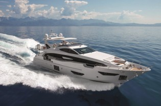 View large version of image: Azimut Grande 95RPH superyacht wins two international awards