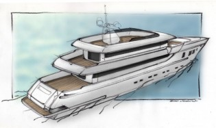 View large version of image: Sale of first Otam SD35 superyacht