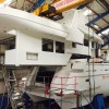 Acico Yachts put superstructure of Drettmann Explorer 24 superyacht onto her hull