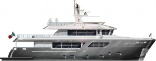 View large version of image: Sale of Darwin Class 102' nd Nauta Air 108' Yachts by Cantiere delle Marche