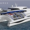 New 69m trimaran yacht Project SUBSEE under development at SVDesign