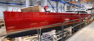 View large version of image: Baltic 116 Custom Yacht DORYAN to be seatrialed in Palma de Mallorca