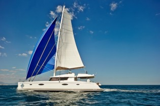 View large version of image: Caribbean catamaran vacation charter yacht LIR's huge success at Antigua Charter Yacht Show