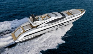View large version of image: Overmarine Group announces sale of first Mangusta 132 Yacht