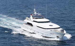 View large version of image: Newly refitted 34m Moonen Yacht AZUL A to be displayed at Phuket Yacht Show 2015