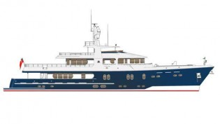 View large version of image: New 42m expedition yacht Cape Scott 137 design