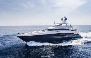 View large version of image: Princess 40M superyacht SOLARIS nominated for World Superyacht Award 2015