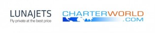 View large version of image: CharterWorld Announces Partnership with LunaJets